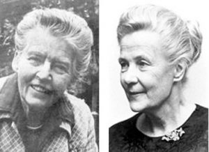 Lady Allen and Alva Myrdal