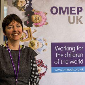 OMEP UK poster and member