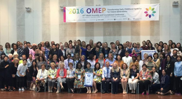 OMEP conference Korea group photo