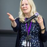 Liz Hryrienowiz at UK conference 2016